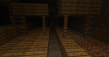 Minecraft abandoned mineshaft by fredbtwist-d53u7mw