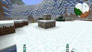 Tinkers' Construct - Gold Gravel Ore
