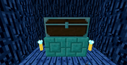 Tinkers Construct - Fancy Diamond Bricks - And Reinforced Diamond Chest