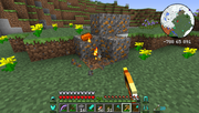 Tinkers' Construct - Copper Gravel Ore - Fiery Pick
