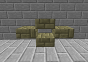 Tinkers Construct - Fancy Brownstone Slabs