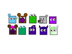 The Ten Squirrel Icons