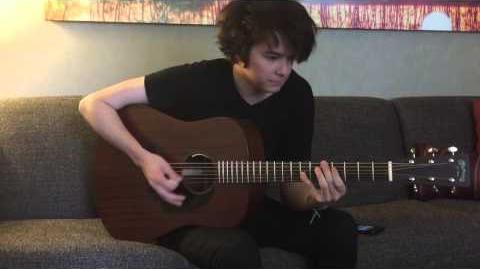 Hey Violet - I Can Feel It (Lead Guitar Tutorial)