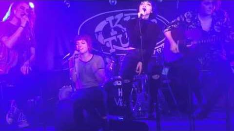 Hey Violet Lights in the Sky Glasgow