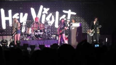 Hey Violet - Dancing With Myself - 13 06 2015