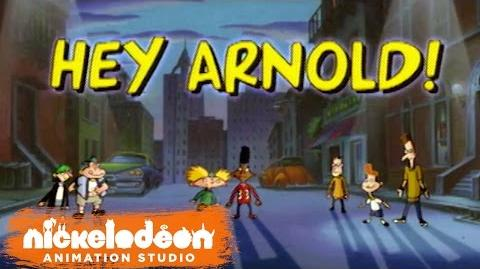 """Hey Arnold!"" Theme Song (HQ) Episode Opening Credits Nick Animation"