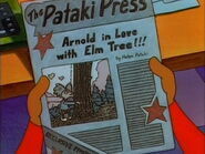 The Big Scoop, Arnold in Love with Elm Tree