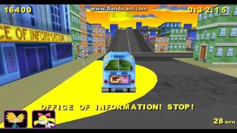 Hey Arnold Runaway Bus 3D Gameplay