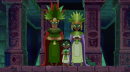 The Green-Eyed Rulers