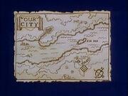 Old map. Elk Isle