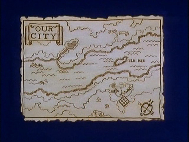 Image - Old map. Elk Isle.jpg | Hey Arnold Wiki | FANDOM powered ...