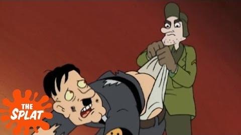 Grandpa Phil Defeats Hitler Hey Arnold! The Splat
