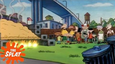 The World's Biggest Pizza Puff Hey Arnold! The Splat
