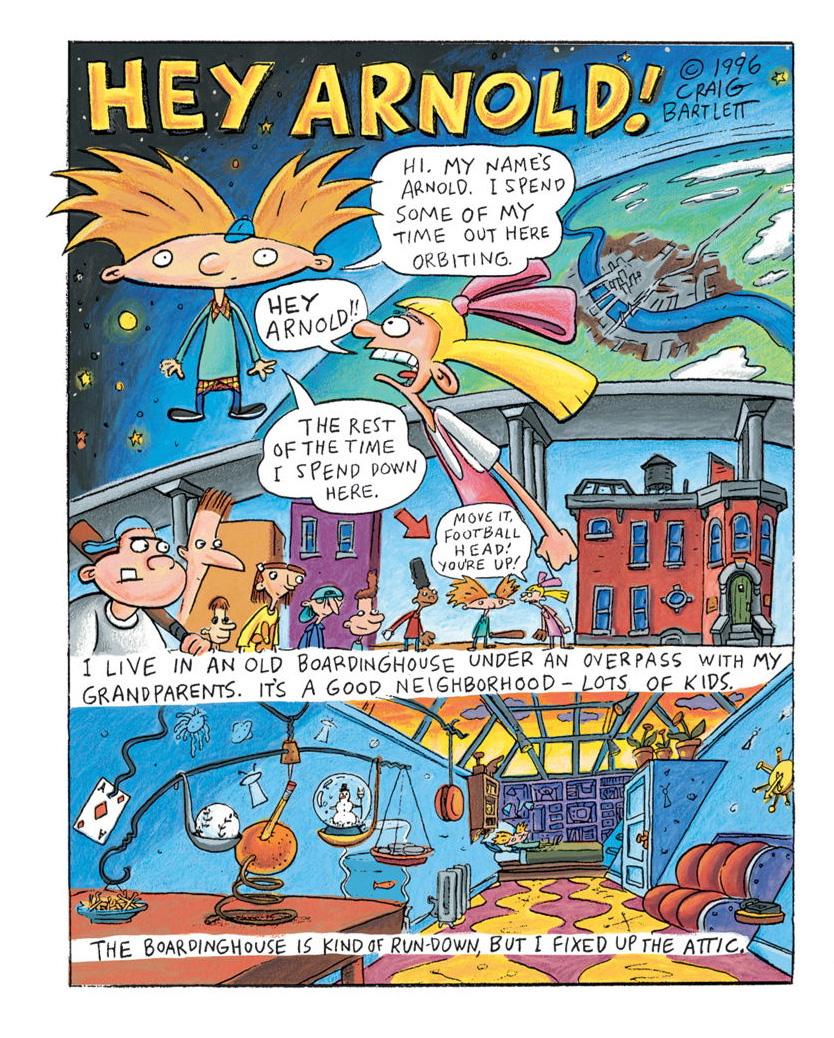 Resultado de imagen para hey arnold comic