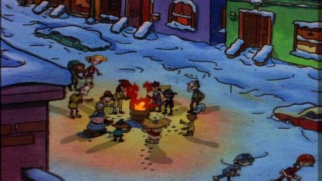 File:A warm winter fire.jpg