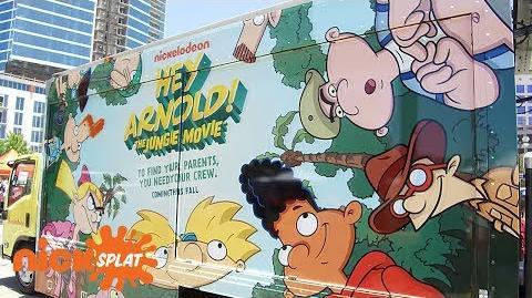 "Craig Bartlett Gives Exclusive Tour of Helga's ""Secret"" Video Room Hey Arnold! NickSplat"