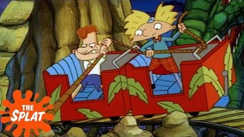 Stuck on a Roller Coaster Hey Arnold! The Splat