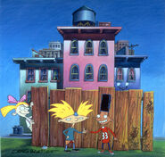Hey arnold fence