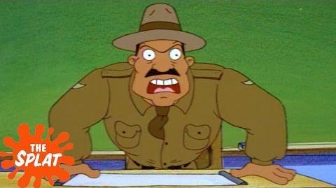Lieutenant Major Goose Hey Arnold! The Splat