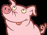 Abner (pig)
