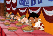 Young Phil at he Eating Contest