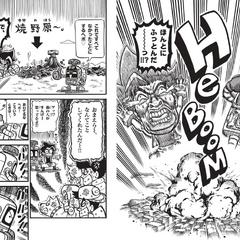 Farting in the manga