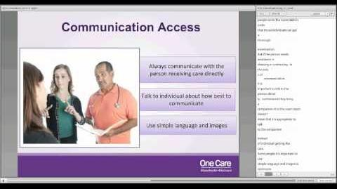 Americans with Disabilities Act (ADA) Compliance - Live Recording on 10 17 2013-2