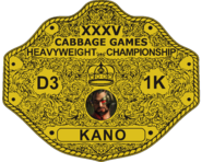Winrar of Tenth Games - 35th Cabbage Games - Heavyweight Champion Edition