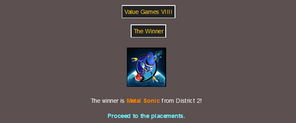 Metal Sonic's 1st Victory