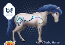 Azure Derby horse tier 1