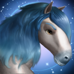 Horse constellation aquarius aquarius a