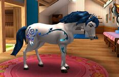 Azure horse