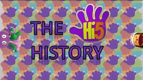 Hi-5 History - From 1998 to 2017