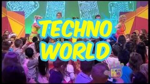 Techno World - Hi-5 - Season 10 Song of the Week