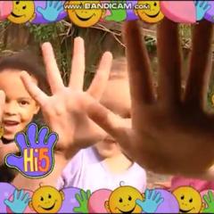 Frame for children for Series 1, Senses Week