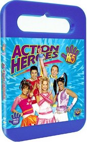 Hi-5 USA Action Heroes dvd