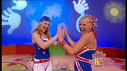 Charli & Kellie Hand In Hand