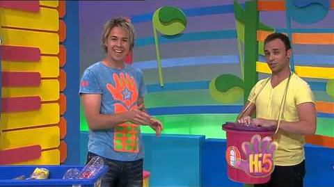 Hi-5 Series 10, Episode 11 (Backyards and recycling)