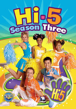 Hi-5 USA Season 3 dvd