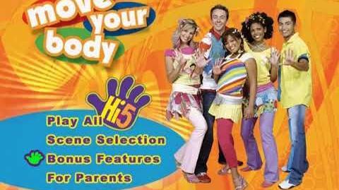 Hi-5, Vol. 1 Move Your Body 2006 DVD Menu Walkthrough