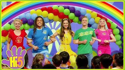 Living In A Rainbow Hi-5 - Season 17 Song of the Week Kids Songs