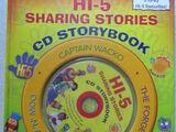 Hi-5 Sharing Stories CD Storybook (book)