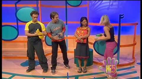 Hi-5 Series 3, Episode 9 (Foods & Charli's picnic)
