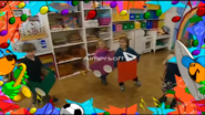 Children's Framework Playing Cool
