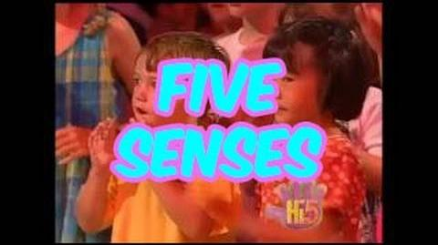 Five Senses - Hi-5 - Season 1 Song of the Week