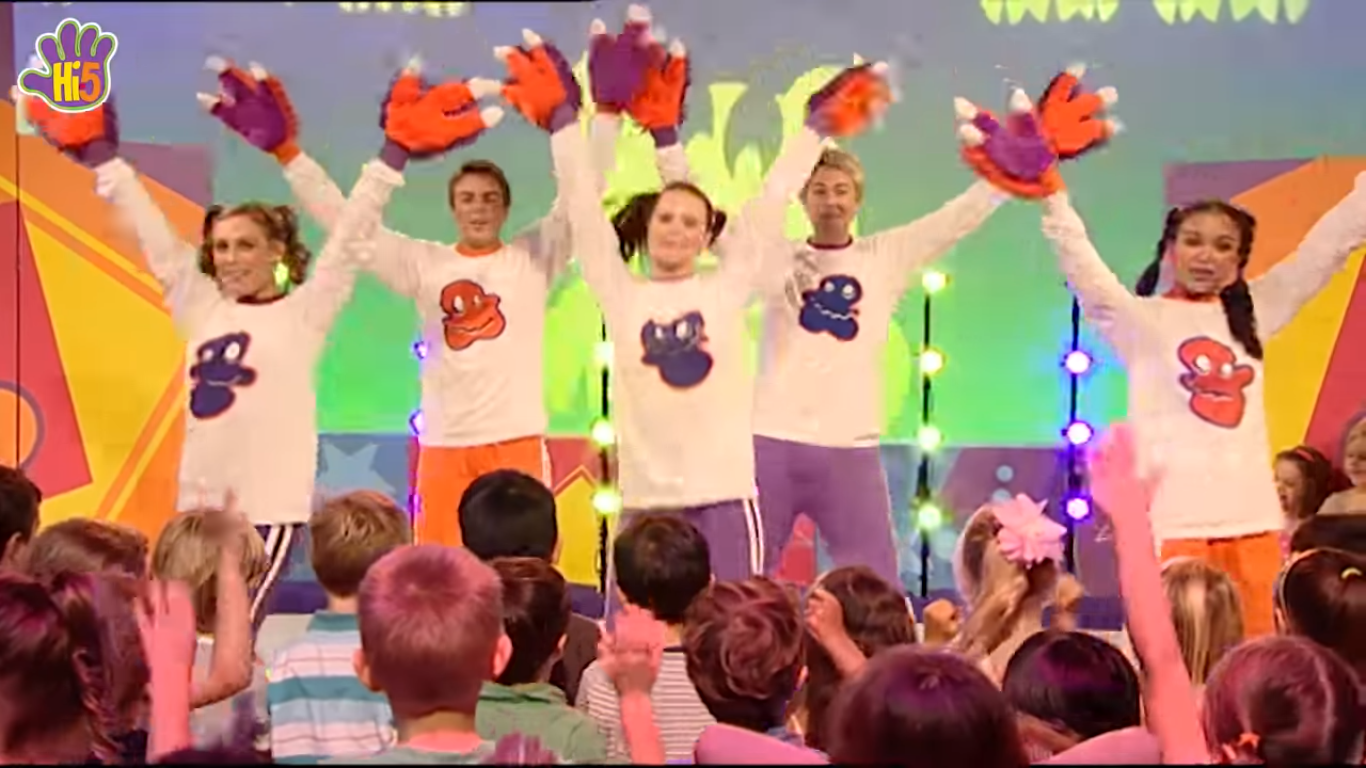 image hi 5 happy monster dance 3 png hi 5 tv wiki fandom