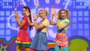 Girls Hi-5 Dance Off