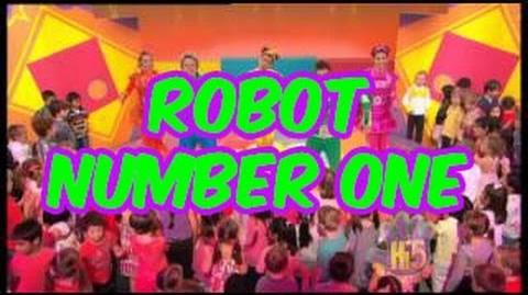 Robot Number One - Hi-5 - Season 13 Song of the Week