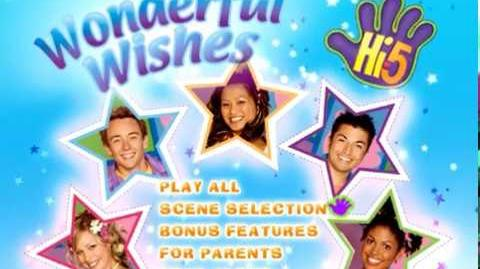 Hi-5, Vol. 4 Wonderful Wishes 2007 DVD Menu Walkthrough