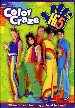 Hi-5 USA Color Craze dvd